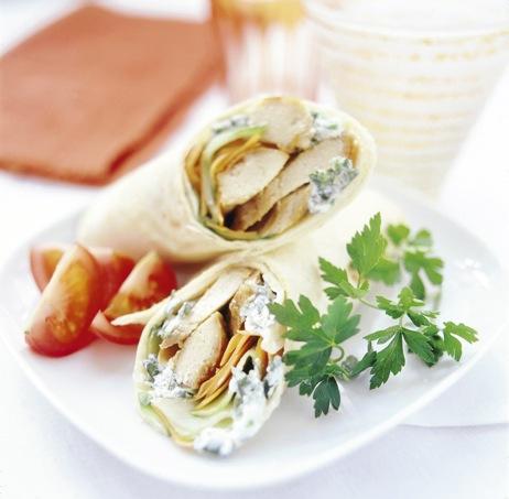 Orientaliska wraps med Quorn recept