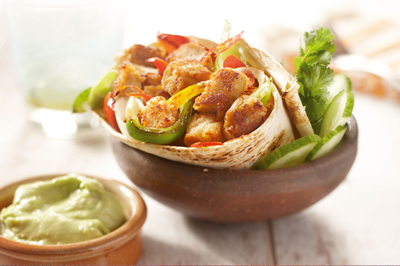 Vegetarisk Fajita recept